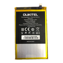Oukitel K6 Battery 100% Original 6300mAh Backup Replacement For Mobile Phone
