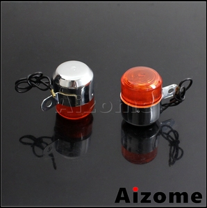 Image 4 - Motorcycle Amber Turn Signal Lamp For Honda Little P25 P50 Z50 Z50A K1/K2 ST50 ST70 CT70 K3 12V 10W Bulb Blinker Indicator Light
