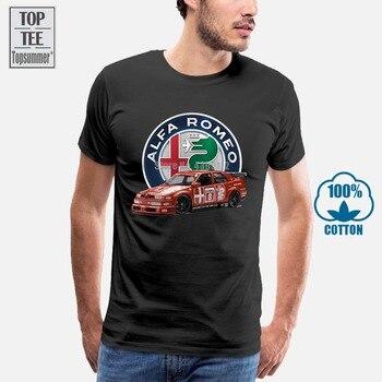 Alfa Romeo 155 V6 Ti 1993 Dtm camiseta de corredor Nurburgring, hombre,...