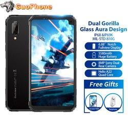 Blackview BV6100 смартфон, экран 6,88 дюйма, 3 ГБ ОЗУ 16 Гб ПЗУ, Android 9,0, Восьмиядерный, 5580 мАч