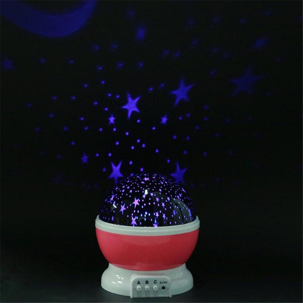 Luz conduzida da noite projetor céu estrelado