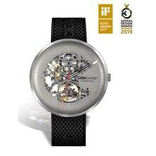 Ciga Luxe Merk Titanium Case Mens Watch Automatic Horloge Met Siliconen Band 30M Waterdichte Klok Mannelijke Relogio Masculino