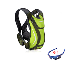 цены Professional bicycle backpack portable marathon running water bag female outdoor sports bike riding male bicycle camping hiking
