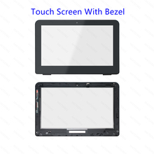For HP 360 11-k143tu 11-k145tu 11-k146tu 11-K120nr 11-K108TU 11-K109TU 11-K102ng LCD Touch screen Digitizer Assembly With Bezel