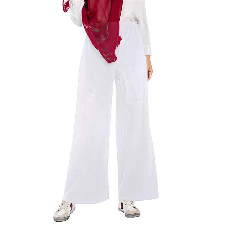 Plus Size Loose Pleated   Wide     Leg     Pants   Casual High Waist Trousers Women Clothes Pantalones Mujer Spodnie Damskie Pantalon Femme