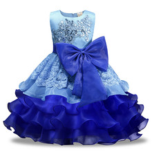 Baby girl lol dress Sequin Bow modis festa infantil party bruidsmeisjes jurk kids robe fille prinsessen jurken meisjes costume