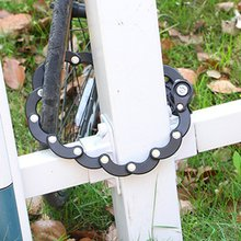 Велосипедный замок Противоугонная цепь Burger Lock горный велосипед аксессуары для велосипеда электрический автомобиль фиксированный складной замок аксессуары