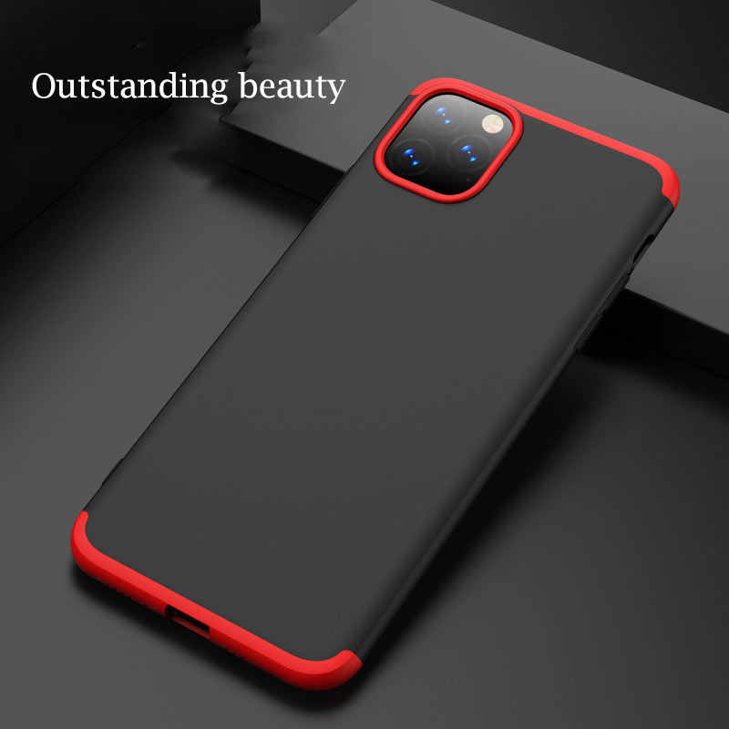 for iPhone 11 Pro Max 11 Case Slim Armor 360 Full Protection Hard Matte PC Cover for iPhone 11 2019 Phone Cases Matte Funda