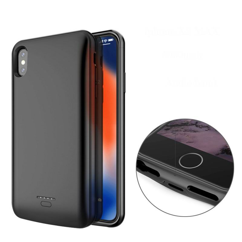<font><b>Battery</b></font> Charger <font><b>Case</b></font> For <font><b>iPhone</b></font> SE 5SE <font><b>5</b></font> 5S Power Bank Charging <font><b>Case</b></font> For <font><b>iPhone</b></font> <font><b>5</b></font> 6 7 8 X XS Max XR <font><b>Battery</b></font> <font><b>Case</b></font> Support Audio image