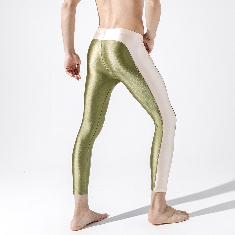 New Men's Fashion Leggings,Men's Tights Sexy Pants,Men's Slim Stretch Leggings 12
