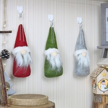 Christmas Small Doll Faceless Navidad Hanging Decoration christmas decorations for home Festive Party Supplies
