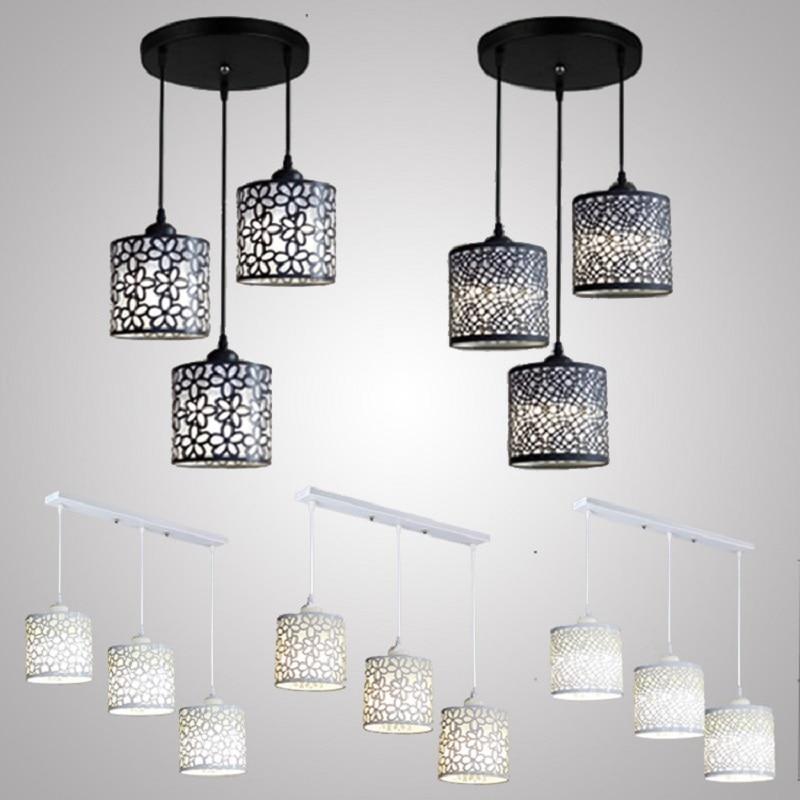 LukLoy hanging lamp kitchen Pendant Light Fixture Led Dining Room Lighting Restaurants Pendant Lamp Living Room Modern Lighting|Pendant Lights| |  - title=