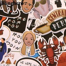 Blinghero 34 шт друзья ТВ шоу вентиляторы подарок украшение