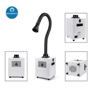 Image 3 - 연기 추출기 레이저 납땜 연기 정화 기계 공기 청정기 연기 흡수기 연기 배기 연기 추출기 용접