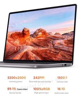 [R7 Stock]Global Version Xiaomi RedmiBook Pro 15 Laptop Ryzen R7-5800H 16GB+512GB SSD 15.6 inch 3.2K Screen Mi Notebook Win 10 4