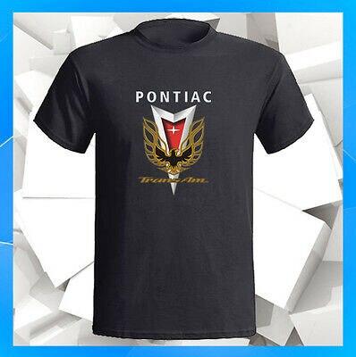 Pontiac Trans-Am Black logo Firebird Men/'s T-shirt