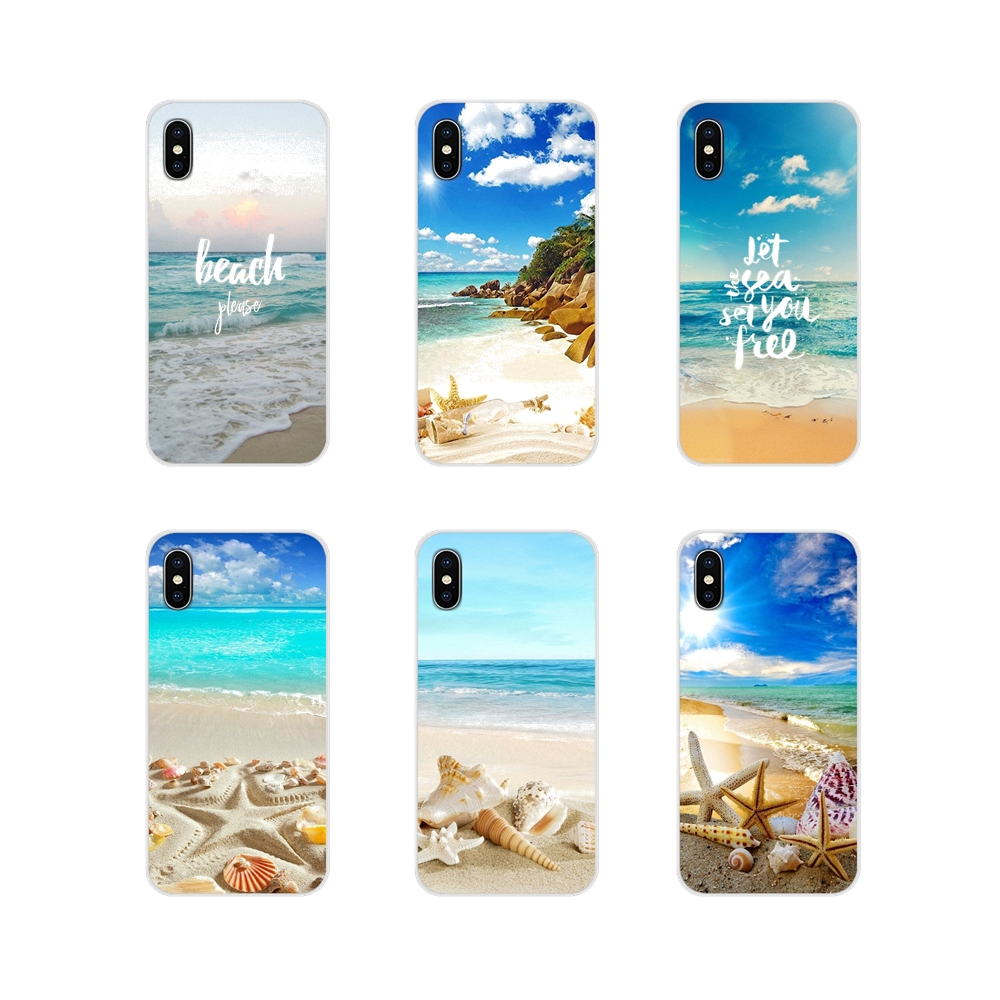 TPU Shell <font><b>Case</b></font> For <font><b>Huawei</b></font> Nova 2 3 2i 3i <font><b>Y6</b></font> Y7 Y9 Prime Pro GR3 GR5 2017 <font><b>2018</b></font> 2019 Y5II Y6II <font><b>Summer</b></font> Beach Hawaii Aloha Sea Ocean image