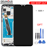 100% Original 6 5 'Full LCD DIsplay + Touch Screen Digitizer Montage Für Huawei Y9 2019 LCD JKM LX1 JKM LX2 JKM LX3|Handy-LCDs|Handys & Telekommunikation -