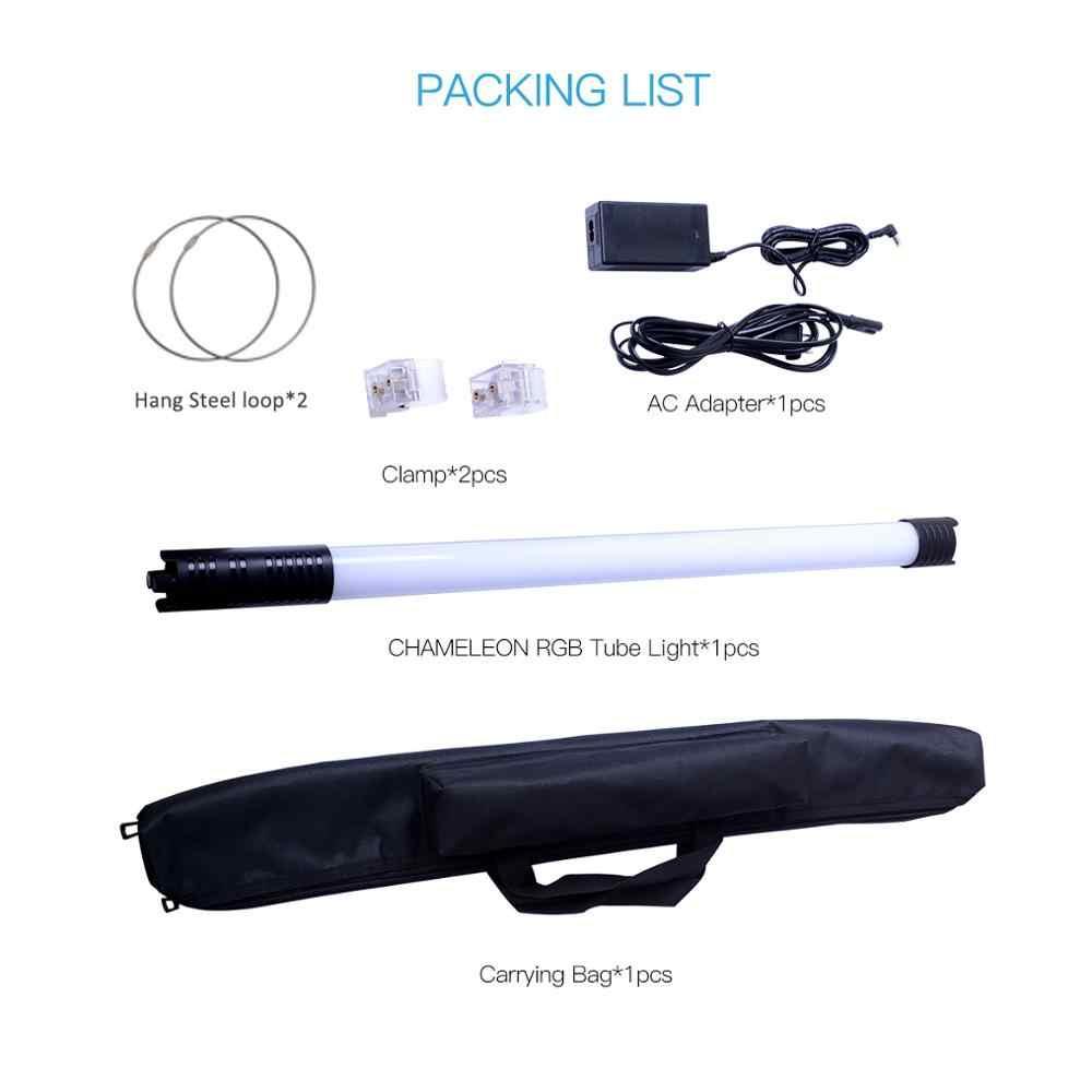 DF bukalemun RGB LED tüp işık renkli özel efektler film fotoğrafçılığı tutma lambası Video youtube canlı akışı