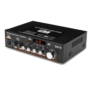 360W G919 Mini Stereo Power Amplifier   4