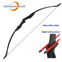 Toparchery 30lbs/40lbs  Recurve Bow hunting bow for Shooting Hunting Game Outdoor Sports Right /Left hand bow  bow and arrow set