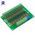 Diymore DST-1R8P-N 8 Kanal Optokoppler 24V zu 5V Isolation Modul PLC Signal Level Spannung Umwandlung Bord für Arduino