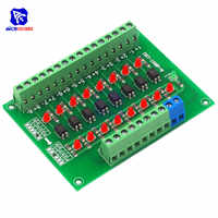 diymore DST-1R8P-N 8 Channel Optocoupler 24V to 5V Isolation Module PLC Signal Level Voltage Conversion Board for Arduino