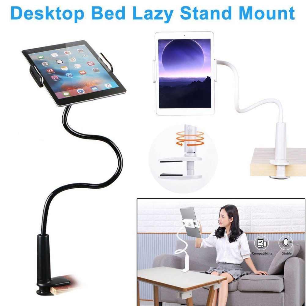 Universal 360 Derajat Fleksibel Ponsel Tablet Berdiri Mount Pemegang Laptop Komputer Stand Bracket Dukungan Tablet Pemegang Telepon