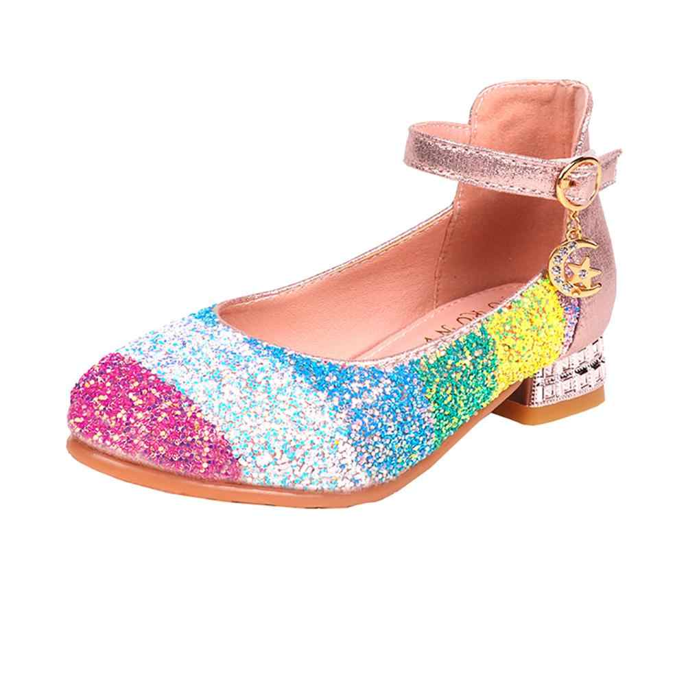Kids Shoes Girls Shoes Sparkle Rainbow
