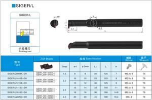 Image 5 - OYYU SIGER קטן נשא חותך מחזיק SIGER0808A 1010B 1210B 1412C 1616C 2020D EH הפיכת בעל כלי משעמם בר CNC מחרטת כלים