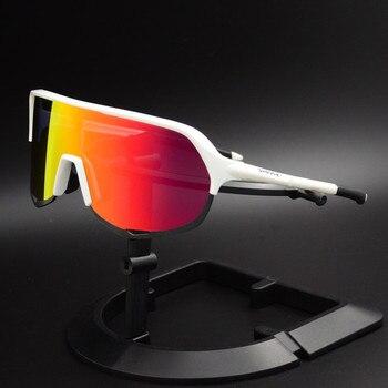 Gafas de sol polarizadas para ciclismo para hombre, 5 lentes, 2019