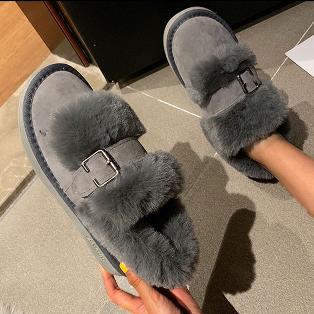 Quality Woman Boots Snow Ankle Boots Plush lining Heels Shoes Woman Female Warm Comfort Boots 2019 Flat 58