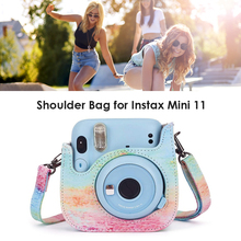 Storage Bag Cover Shell Shoulder Bag for Instax Mini 11 Camera Protective Case Electronic Equipment Protective Pack Case