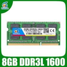 VEINEDA Memoria DDR3L 8gb 1333 ram memoria ddr3L 1333Mhz עבור אינטל AMD Sodimm ddr3L 8gb pc3 12800 204pin