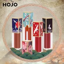HOJO Chinese style Temptation Moisturizing Lip Glaze Nude Matte Sexy 6color Optional Velvet lipgloss Beauty Makeup