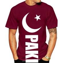 Camiseta personalizada de paquistaní para hombres, camisa de moda con cuello redondo, con Fan del grillo, día de celebración de la independiente, Pak, novedad de 2020