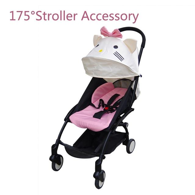 Accessoires pour poussette à 175 degrés pour bébé Yoya Babyzen, revêtements de siège, couverture dombrage solaire pour bébé