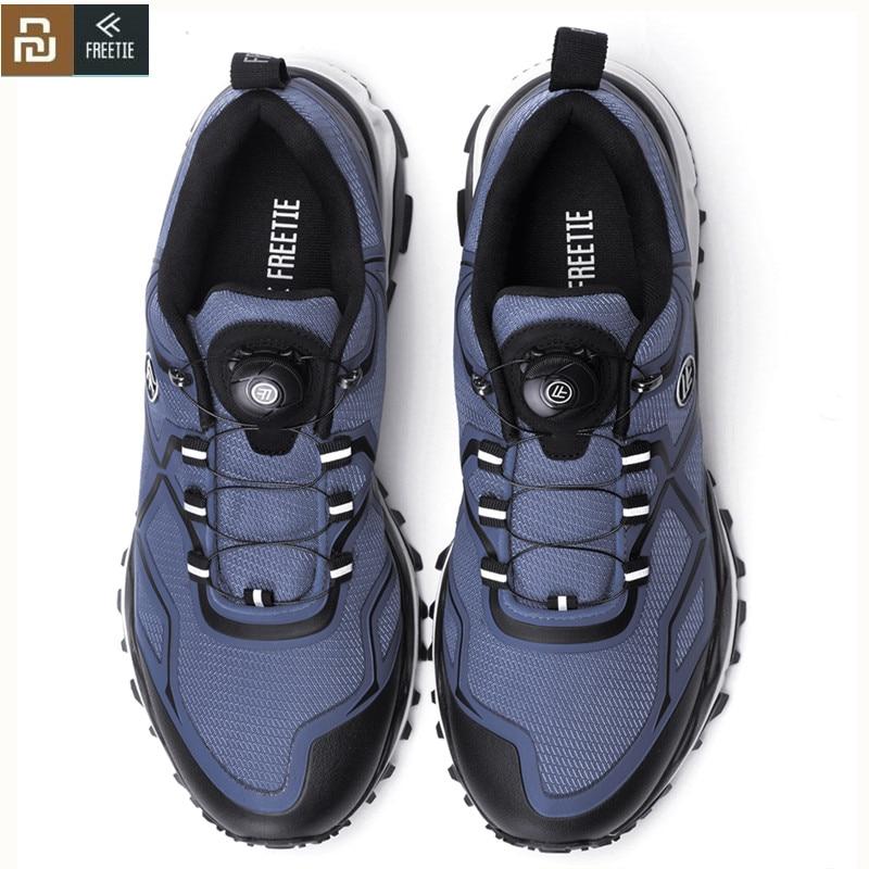 Мужские кроссовки Mijia FREETIE, спортивные кроссовки Mijia, высокая амортизация, прогулочная обувь для Xiaomi Mijia|Смарт-гаджеты|   | АлиЭкспресс
