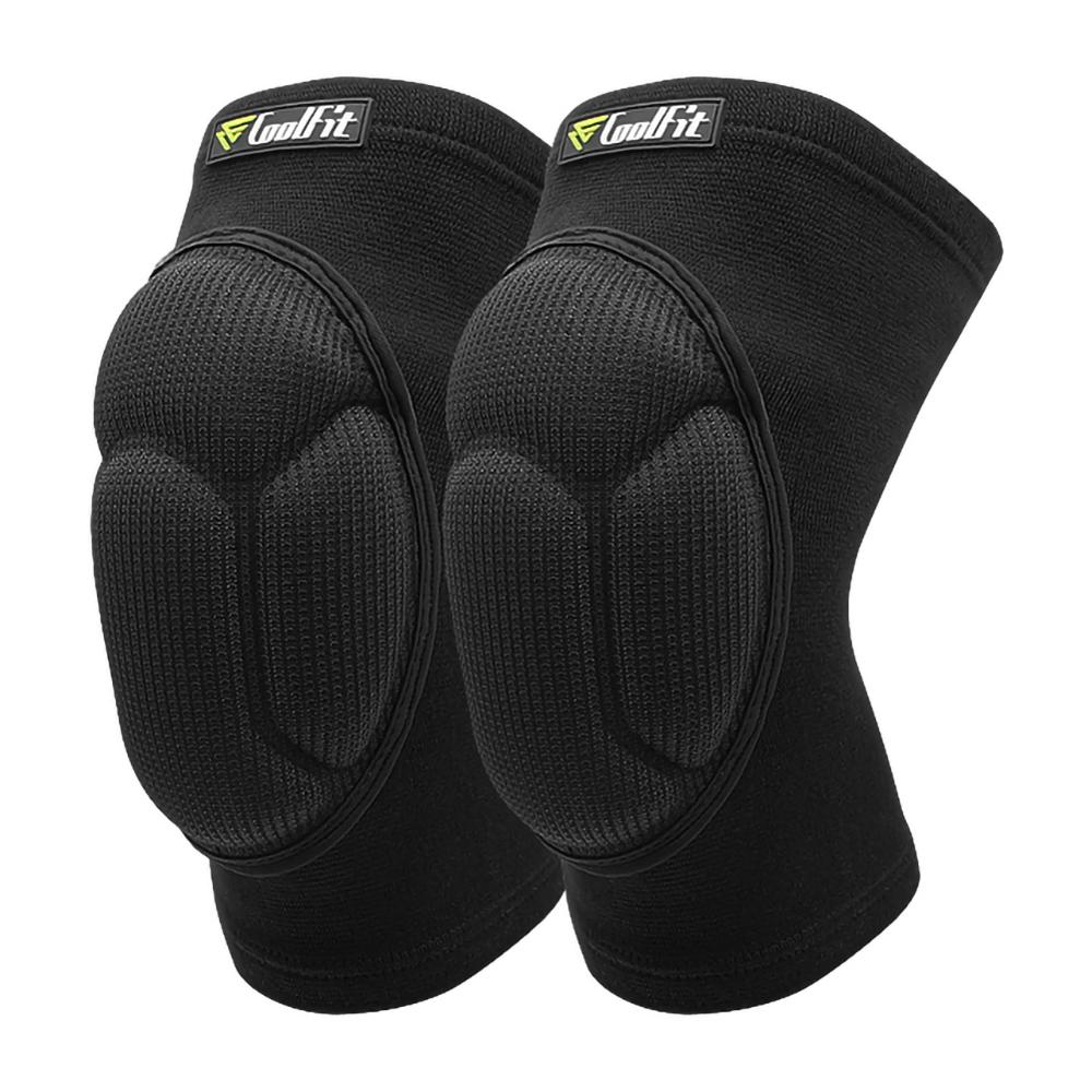 1 Pair Football Volleyball Extreme Sports Ski Thicked Knee Pads Fitness Knee Support Cycling Knee Protector Kneepad