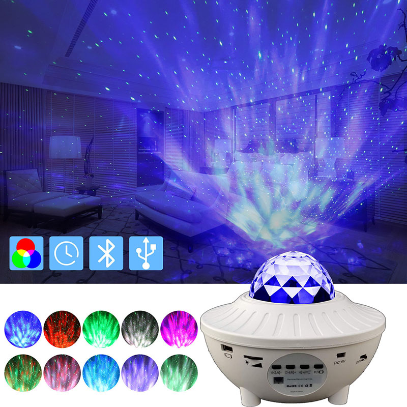 LED Projector Star Moon Night Light Colorful Flashing Star Projection Lamp Music Player Kids Baby Room Night Lamp Xmas Gifts|LED Night Lights| - AliExpress