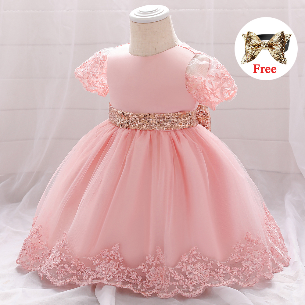 Newborn Baby Girl Party Dress Infant Princess Dresses For Baby 1st Birthday Dress Sequins Summer Baby Girl Clothes 9m 12m 24m Dresses Aliexpress