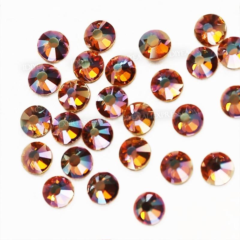 36 pierres de strass en verre ss30 améthyste