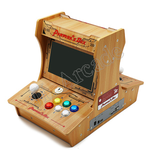 Image 5 - باندورا بوكس 6 البلاستيك بارتوب 2 اللاعبين ماكينة صالة الألعاب الصغيرة 10 بوصة شاشة مزدوجة مزدوجة القتال لعبة وحدة التحكم ممر لعبة ثلاثية الأبعاد
