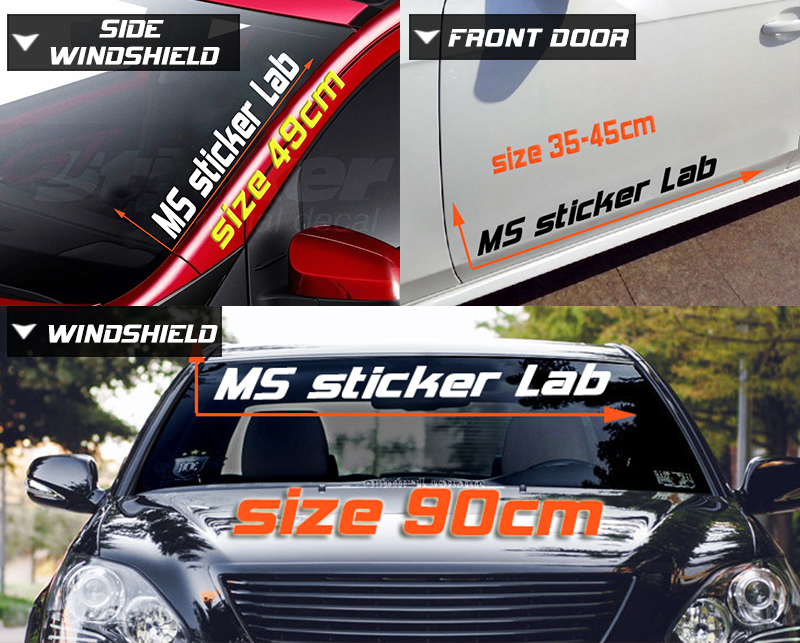Simply Clean Car Lateral Sticker Window Stickers Originality Self Styling Voiture Wall Car Windshield Car Stickers Car Stickers Aliexpress