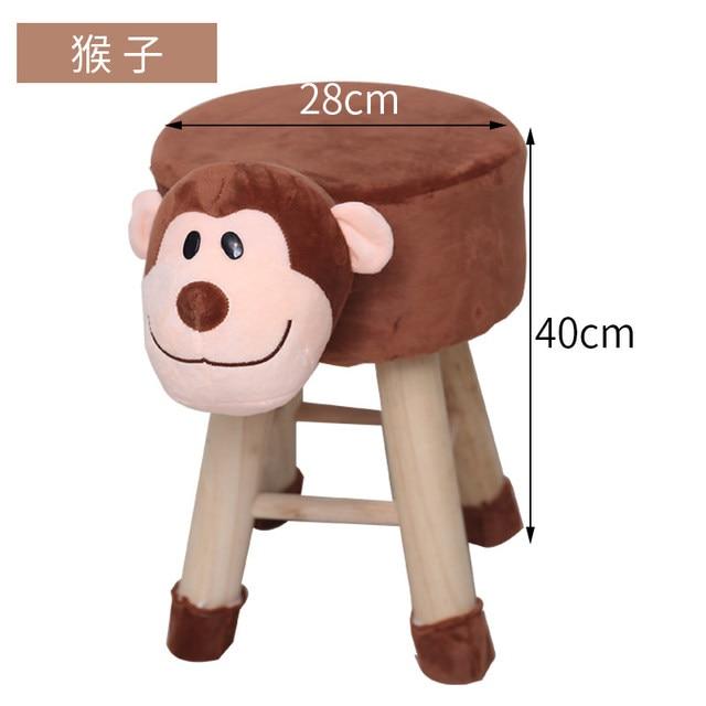 H1 Animal Shoes Stool Home Sitting Baby Cute Cartoon Sofa Stool Creative Children Small Bench Low Chair Armchair Cheap 4