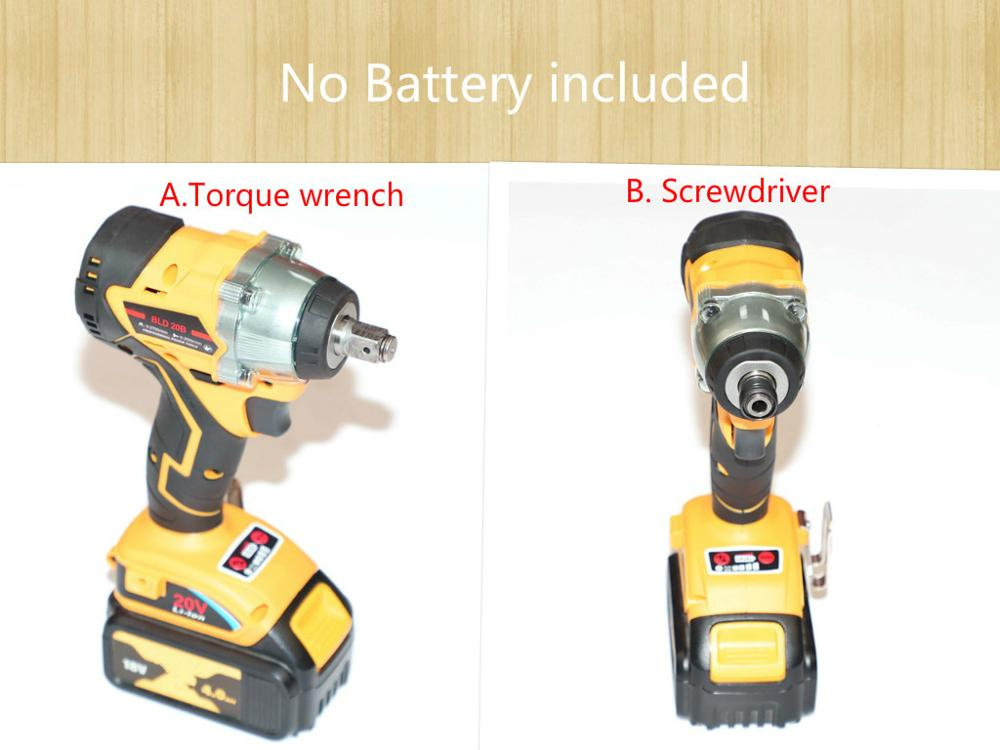 Screwdriver Wrench Battery Power-Tool Dewalt-Torque Cordless Brushless-Motor Cheapest title=