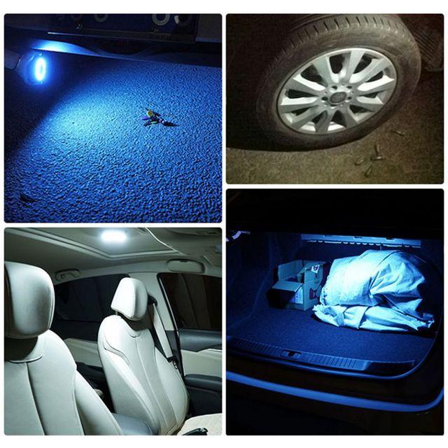 Auto Interieur Plafond Dome Light Reading Usb Opladen Dak Magneet Lamp Voor Ford Focus Fiesta Edge F150 F250 Explorer Mondeo kuga
