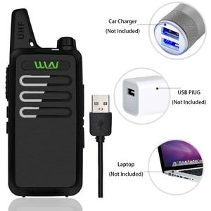 Image 3 - WLN KDC1 جهاز لاسلكي محمول صغير KD C1 FM جهاز الإرسال والاستقبال اتجاهين راديو هام التواصل KD C1 محطة راديو جهاز اتصال داخلي لاسلكي