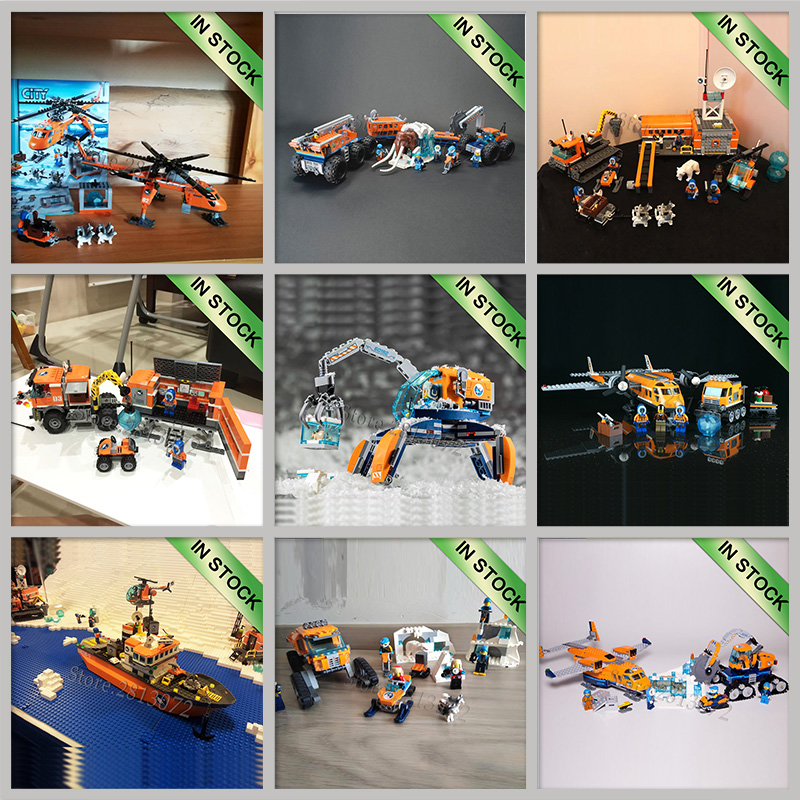 In Stock Building Kits Blocks Bricks Compatible With 60034 60035 60064 60036 60062 60192 <font><b>60194</b></font> 60196 60195 02111 02112 02110 image