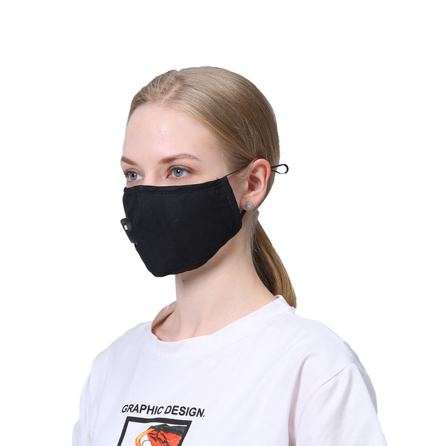 1 Pcs Washable Face Mouth Mask Anti Dust Mask PM2.5 Filter Windproof Mouth-muffle Bacteria Proof Flu Face Masks Care Reusable 4